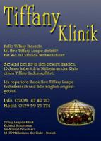 Foto 5 TIFFANY LAMPEN REPARATUR NRW & Glaskunst Galerie Mülheim