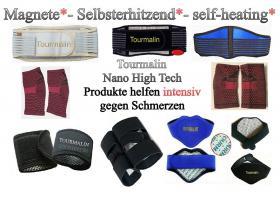Foto 3 TOURMALIN anti Schmerzen Ruecken Bandage farbe blau