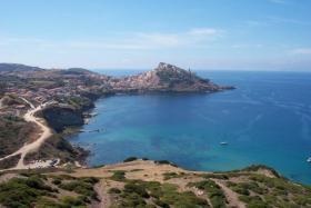 Castelsardo im Norden Sardiniens