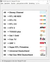 TV-ZAP-Liste V. 2.0