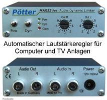 Foto 2 TV , Computer & Radio Lautstärke automatisch anpassen mit Audio Limiter