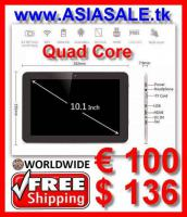 "Tablet PC 10.1"" QuadCore nur € 100 versandkostenfrei"