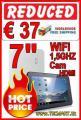 """Tablet PC 7"""" 1,5 GHZ WiFi Cam HDMI € 37 versandkostenfrei"""