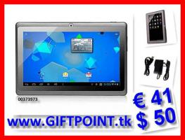 """Tablet PC 7"""" 1,5 GHz 3G Cam nur € 41"""