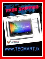 "Tablet PC 7"" DualCore Android Cam nur € 49 -  versandkostenfrei"