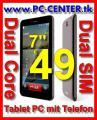 """Tablet PC 7"""" DualCore mit TELEFON nur € 49"""