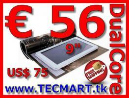 """Tablet PC 9"""" Dual Core 8GB Cams nur € 56 versandkostenfrei"""