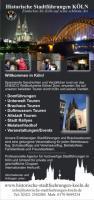Flyer Historische Stadtführungen Köln