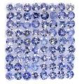 Tansanit Lots  ( 5 x ) 4,64 ct - Purple Blue ,VVS