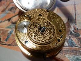 Foto 17 Taschenuhr mit Duplexhemmung Kette und Schnecke England um 1820