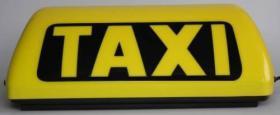 Taxi Leuchte mit Led Lampe