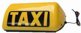 Foto 2 Taxi Leuchte mit Led Lampe