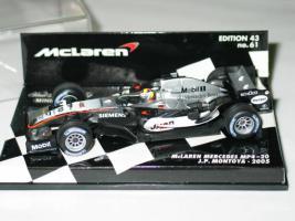 Foto 2 Team McLaren Mercedes MP4-20 J.P.Montoya Neu