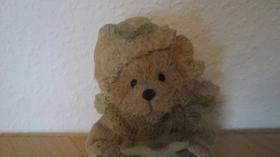 Foto 2 Teddybär mit Schlafmütze NICHTRAUCHERHAUSHALT