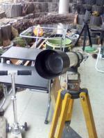 Foto 2 Teleskope klein mit Ferstellbarer Stange und Halterung zum Ausziehen