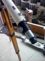 Foto 3 Teleskope klein mit Ferstellbarer Stange und Halterung zum Ausziehen