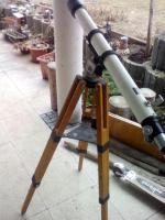 Foto 4 Teleskope klein mit Ferstellbarer Stange und Halterung zum Ausziehen