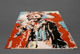 Foto 3 Teppich - NEU  Essen RockArt  Hommage a' Marvin UNIKAT ca 170 x 270 cm NP 1970€ .