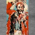 Teppich - NEU  Graz RockArt  Hommage a  Marvin UNIKAT ca 170 x 270 cm NP 1970€ .