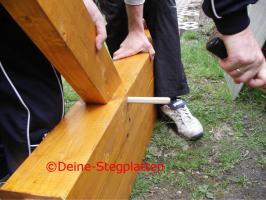 Foto 3 Terrassendachbausatz aus Leimholz, Profiqualität, selber aufbauen