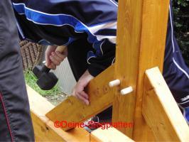 Foto 4 Terrassendachbausatz aus Leimholz, Profiqualität, selber aufbauen