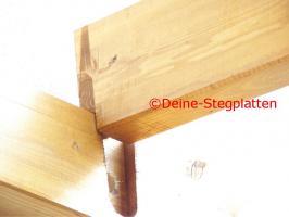 Foto 7 Terrassendachbausatz aus Leimholz, Profiqualität, selber aufbauen