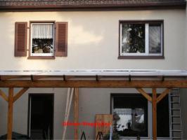 Foto 12 Terrassendachbausatz aus Leimholz, Profiqualität, selber aufbauen