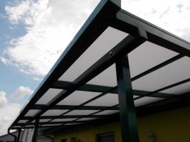 Foto 2 Terrassenüberdachung aus Kammerpolycarbonat 3 x 5 M - aus Polen von BLASK