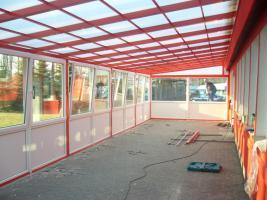 Foto 4 Terrassenüberdachung aus Kammerpolycarbonat 3 x 5 M - aus Polen von BLASK