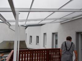 Foto 6 Terrassenüberdachung aus Kammerpolycarbonat 3 x 5 M - aus Polen von BLASK