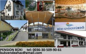 Thermalbad  in UNGARN Bük-Gästehaus