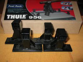 Foto 5 Thule 950 Fußsatz (4 Stück) für PKW ohne Regenr