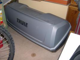 Foto 2 Thule Box + Träger