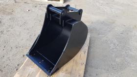 Foto 4 Tieflöffel für Minibagger 0,8 - 2,0 Tonnen Breite 50 cm Inhalt 49 Baggerlöffel