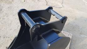 Foto 5 Tieflöffel für Minibagger 0,8 - 2,0 Tonnen Breite 50 cm Inhalt 49 Baggerlöffel