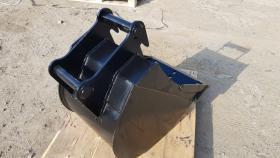 Foto 7 Tieflöffel für Minibagger 0,8 - 2,0 Tonnen Breite 50 cm Inhalt 49 Baggerlöffel