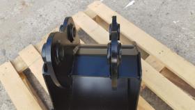 Foto 11 Tieflöffel für Minibagger 0,8 - 2,0 Tonnen Breite 50 cm Inhalt 49 Baggerlöffel