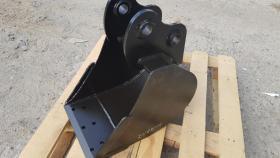 Foto 12 Tieflöffel für Minibagger 0,8 - 2,0 Tonnen Breite 50 cm Inhalt 49 Baggerlöffel