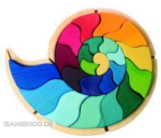 Tierlegespiel Ammonit – Schnecke