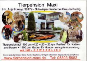 Tierpension Maxi bei BS