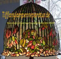 Tiffany-Lampen-Reparatur-Fusing-Glaskunst-Bleiverglasung-Restaurieren-Glaserei-Gartengestaltung-Gartenbau Landshut