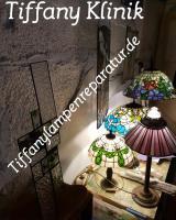 Foto 2 Tiffany-Lampen-Reparatur-Fusing-Glaskunst-Bleiverglasung-Restaurieren-Glaserei-Gartengestaltung-Gartenbau Landshut