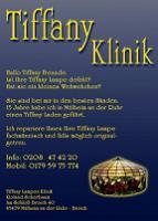 Foto 4 Tiffany-Lampen-Reparatur-Fusing-Glaskunst-Bleiverglasung-Restaurieren-Glaserei-Gartengestaltung-Gartenbau Landshut