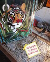 Foto 5 Tiffany-Lampen-Reparatur-Fusing-Glaskunst-Bleiverglasung-Restaurieren-Glaserei-Gartengestaltung-Gartenbau Landshut
