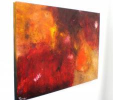 Foto 2 Titel:'Sunshine City'Unikat*Abstrakte Bilder kaufen*Modern Art-Gemälde 60x80