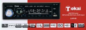 Tokai LAR-68 Autoradio - AM/FM tuner/MP3/USB/SD/front AUX input