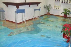 Tolle Bodenbeschichtung, 3D Effekt & Foto Fußböden, Uni- & Multifarbe Fußböden für Laden & Geschäfte.