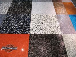 Foto 25 Tolle Bodenbeschichtung, 3D Effekt & Foto Fußböden, Uni- & Multifarbe Fußböden für Laden & Geschäfte.