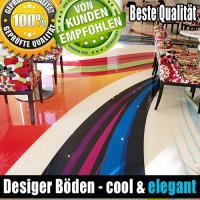 Foto 28 Tolle Bodenbeschichtung, 3D Effekt & Foto Fußböden, Uni- & Multifarbe Fußböden für Laden & Geschäfte.