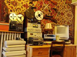 Foto 5 Tonbandmaschinen 80 Stück, Tonbänder hunderte